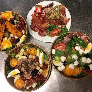 Plat unique et Maxi salade