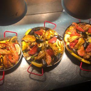 paella pour 4 (à commander 1h30 avant)