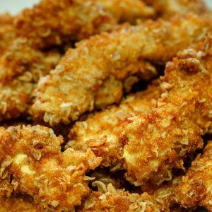 aa- BOX poulet pané